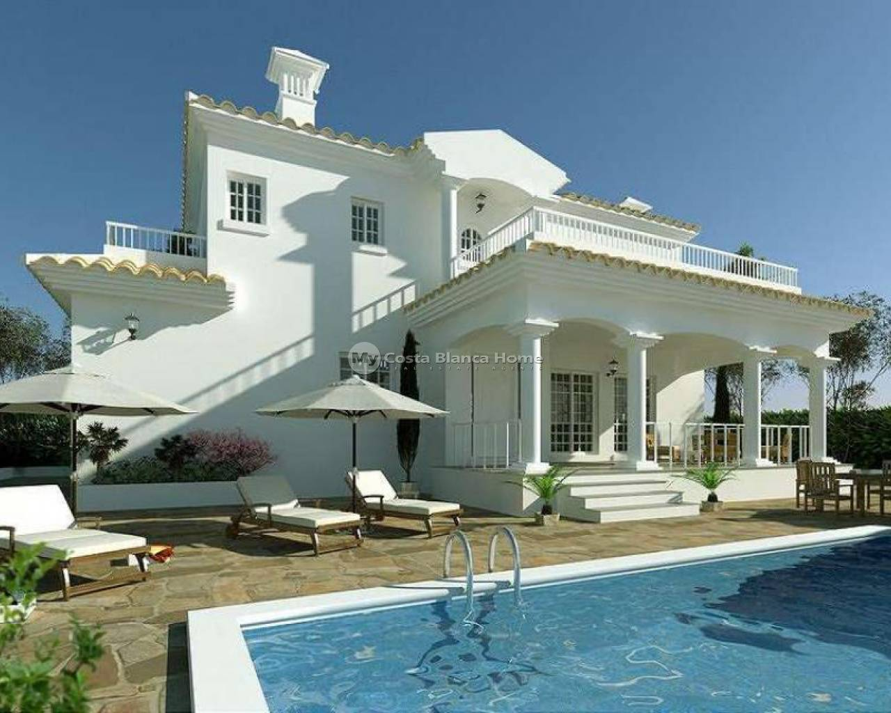 Detached Villa - New Build - Pinoso - PinosoAlicanteValenciaSpain