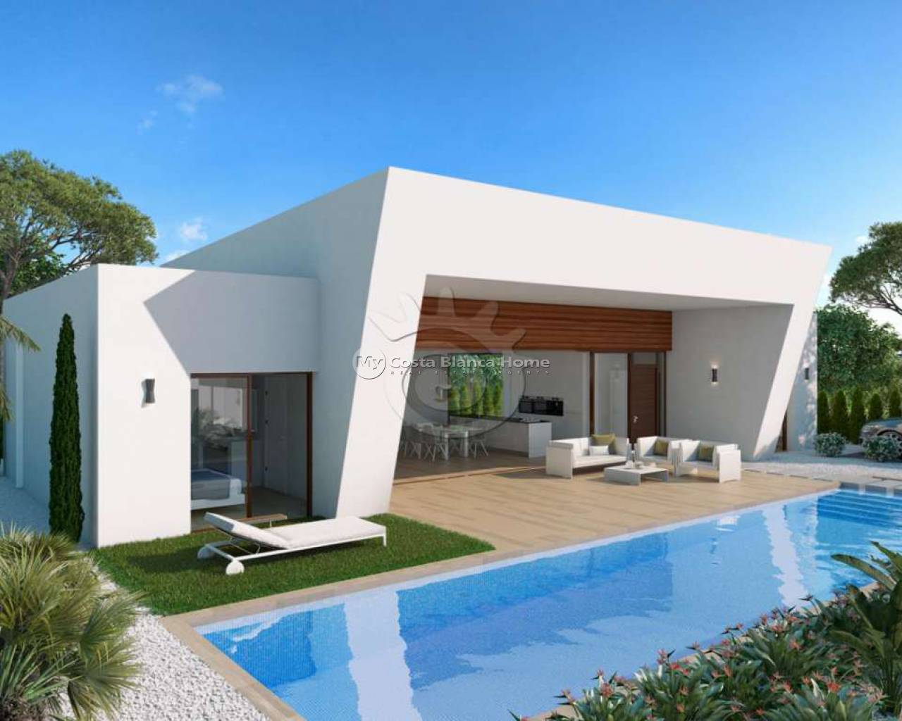New Build - Detached Villa - Benijofar - BenijofarAlicanteValenciaSpain